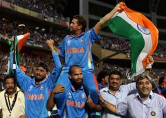 Tendulkar shortlisted for 'Laureus Sporting Moment'