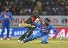 Ganguly says give Pant time to mature