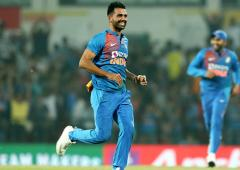 Mushtaq Ali: Chahar almost takes another hat-trick