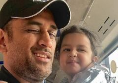 SEE: Dhoni shares adorable video of Ziva singing