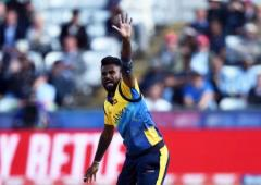 Injured SL pacer Udana ruled out of third T20 vs India