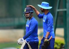 'Tired of answering questions on Rishabh Pant'