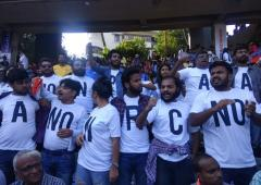 See: Anti-CAA protest at Wankhede Stadium
