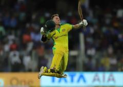 PICS: Warner, Finch crush India with breezy tons