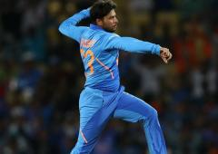 Kuldeep is fastest Indian spinner to take 100 wickets