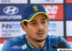 Seniors need to guide youngsters: De Kock