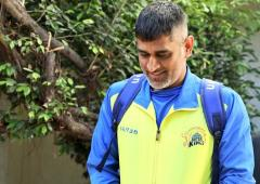 SEE: Dhoni leaves Chennai after IPL's suspension