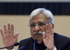 CEC Sunil Arora's big test