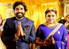Pix: South star Namitha weds!