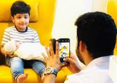 Meet Jr NTR's baby