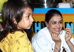 PIX: Genelia takes her sons to a birthday bash!