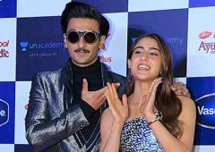 WATCH: Ranveer and Sara dance on the red carpet