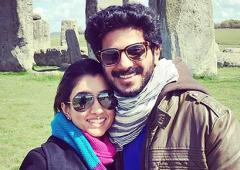 How Dulquer fell in love with his wife