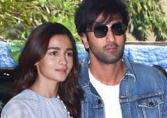 Alia has Christmas brunch with Ranbir and his family