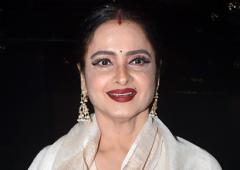 PIX: Guess who Rekha is cheering for?