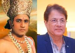 'Lord Ram' sees Ramayan for the first time!