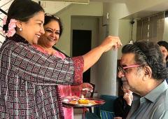Why this Raksha Bandhan was special to Shabana
