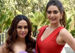 Amruta and Karishma get ready to play with Khatron!