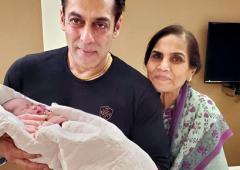 PIX: Salman Khan poses with his little niece