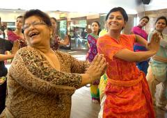 PIX: When Saroj Khan made Nandita Das dance