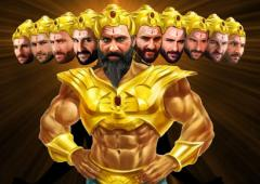 Is this Saif's Ravan look?