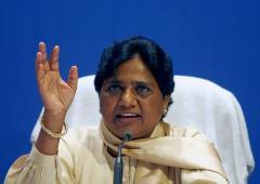 Mayawati demolishes Modi's aura