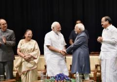 Did Modi snub him? Hamid Ansari answers