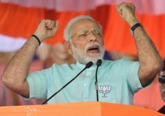 'Modi will win with a lesser majority'