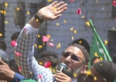 A padyatra with Owaisi