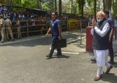 BJP campaign about Modi, not achievements