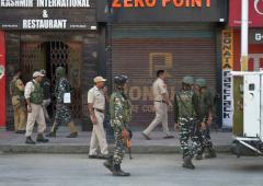 There is a problem in Kashmir