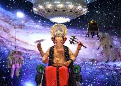 PHOTOS: Ganesh pandals with Chandrayaan-2 theme