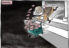 2 out of every Rs 5 the govt spends is borrowed money