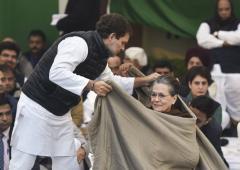 'Sonia, Rahul, Priyanka are not on the same page'