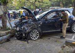 Saba Karim's son detained after his car hits pedestrian