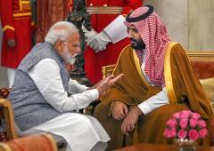 Saudi-Indian bromance: What next?