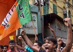 Can Mamata control TMC goons?