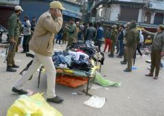 1 killed, 35 injured in grenade attack in Srinagar