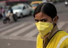 From 'severe' to 'very poor': Delhi air improves