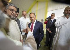Post Ayodhya verdict, religious leaders meet NSA Doval