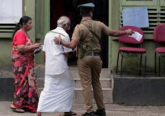 Violence mars Sri Lankan presidential election
