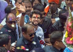 Aaditya Thackeray files nomination from Worli