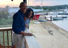 How the Obamas marked their 27th wedding anniversary