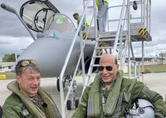 Rajnath receives IAF's 1st Rafale jet from France