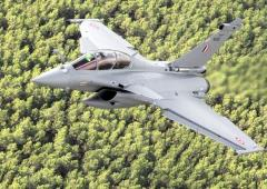 A look at airborne RB-002, India's second Rafale jet