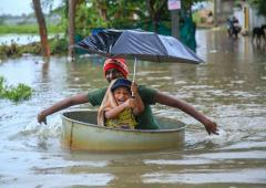 PHOTOS: Heavy rain lashes Karnataka, Kerala