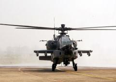 In boost to its firepower, IAF gets 8 Apache choppers
