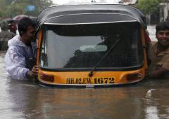 Mumbai finally gets some respite from heavy rains