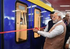 PM rolls out first 'Make in India' Metro coach