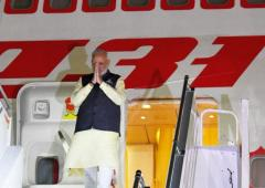 Houston trumped, PM arrives in New York for 74th UNGA